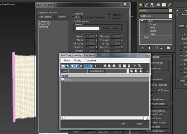 3dmax pare kardan parche32 - پاره کردن پارچه در تری دی مکس