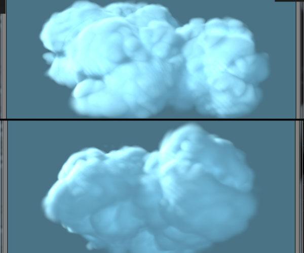 3dmax sakhtan abr27 - ایجاد ابرهای واقعی در تری دی مکس با استفاده از Particle Flow و AfterBurn