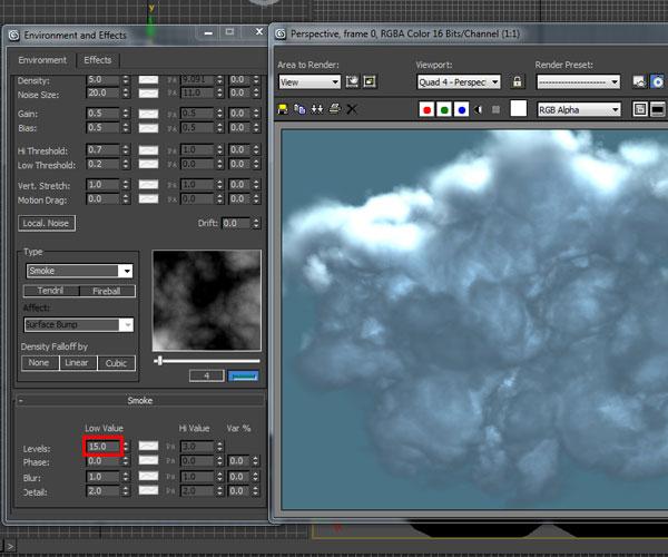 3dmax sakhtan abr31 - ایجاد ابرهای واقعی در تری دی مکس با استفاده از Particle Flow و AfterBurn