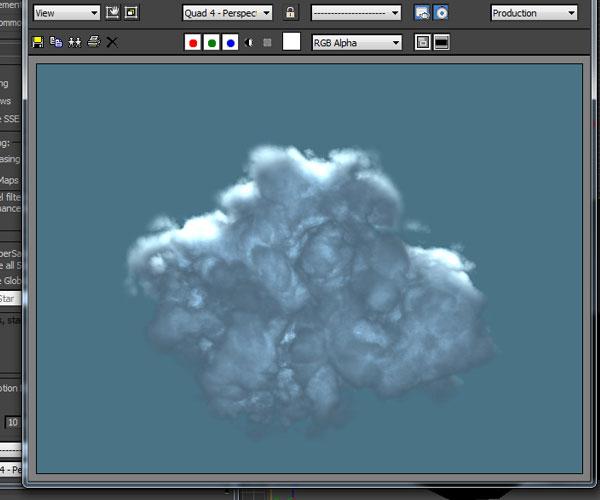 3dmax sakhtan abr33 1 - ایجاد ابرهای واقعی در تری دی مکس با استفاده از Particle Flow و AfterBurn