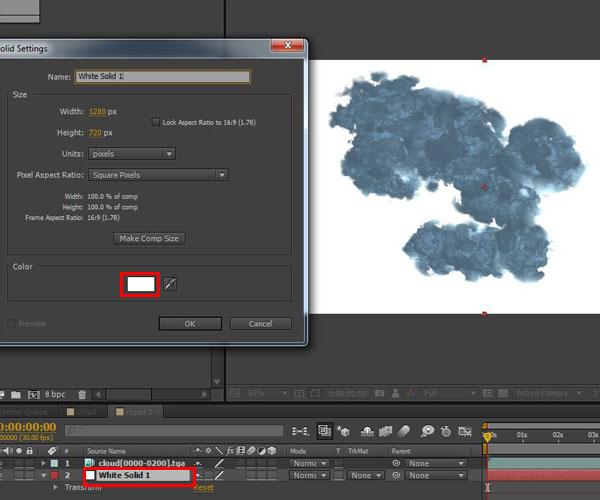 3dmax sakhtan abr38 - ایجاد ابرهای واقعی در تری دی مکس با استفاده از Particle Flow و AfterBurn