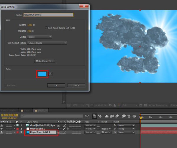 3dmax sakhtan abr41 - ایجاد ابرهای واقعی در تری دی مکس با استفاده از Particle Flow و AfterBurn