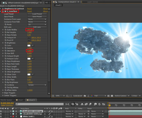 3dmax sakhtan abr44 - ایجاد ابرهای واقعی در تری دی مکس با استفاده از Particle Flow و AfterBurn