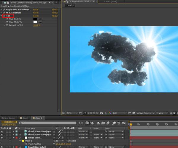 3dmax sakhtan abr45 - ایجاد ابرهای واقعی در تری دی مکس با استفاده از Particle Flow و AfterBurn