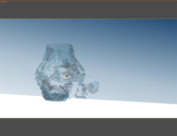 46 Exploding Glass Effect with Thinking Particles and 3dsMax - درست کردن یک اثر فوقالعادهی انفجار شیشه با استفاده از Thinking Particles و تریدیمکس