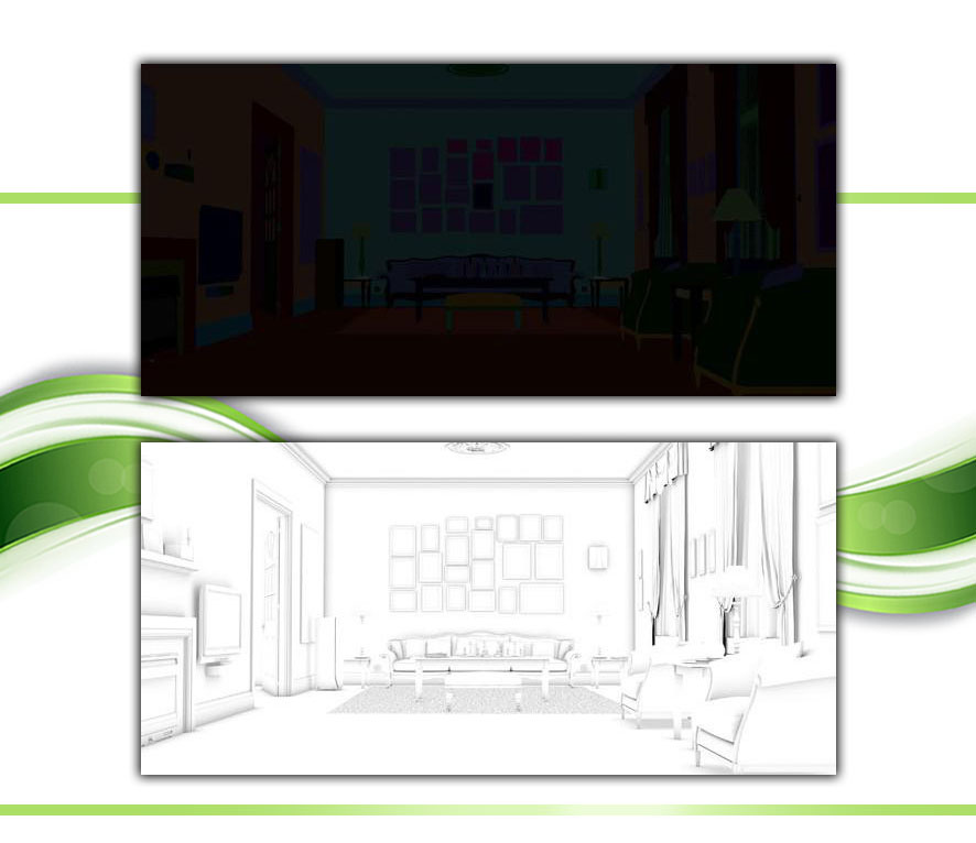 Making Classic Living Room using 3D 21 - مدلسازی اتاق خواب در تری دی مکس