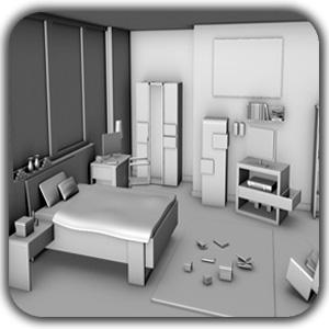 Making Classic Living Room using 3D 4 - طراحی داخلی