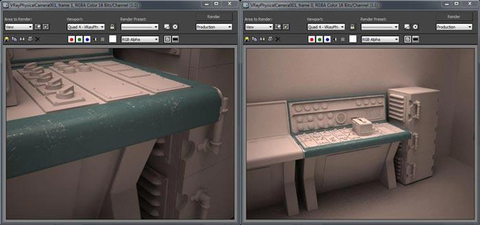 create realistic shaders step 14 - نحوه ایجاد شیدر در تری دی مکس