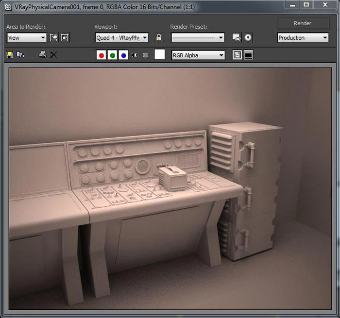 create realistic shaders step 2 - نحوه ایجاد شیدر در تری دی مکس