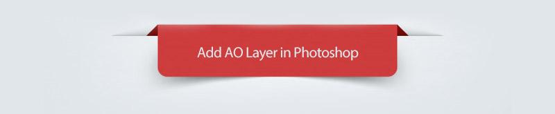 Add AO Layer  in  Photoshop - ایجاد Ambient Occlusion در تری دی مکس