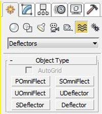 An introduction to deflectors - مدیفایر flex در تری دی مکس