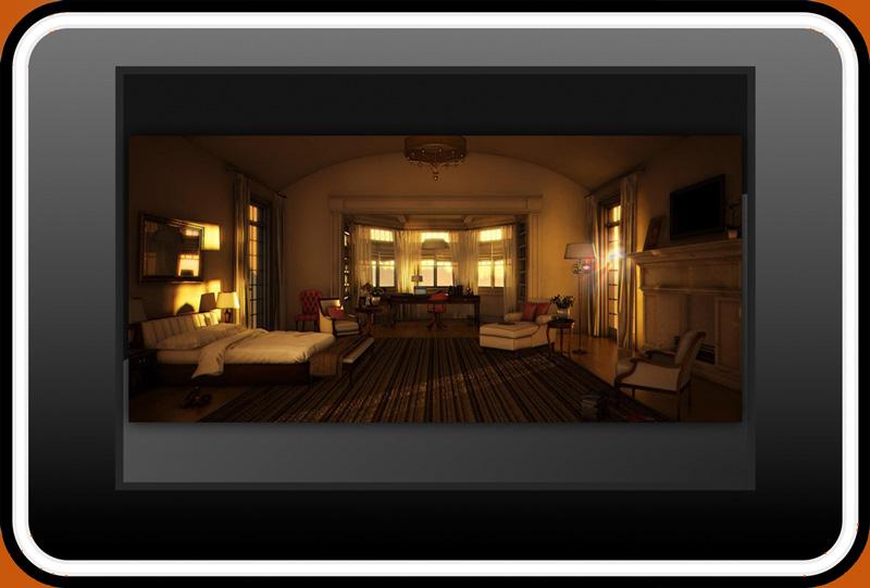 Sunset Sunrise 3d60pg - تنظیمات نور طلوع و غروب خورشید در تری دی مکس