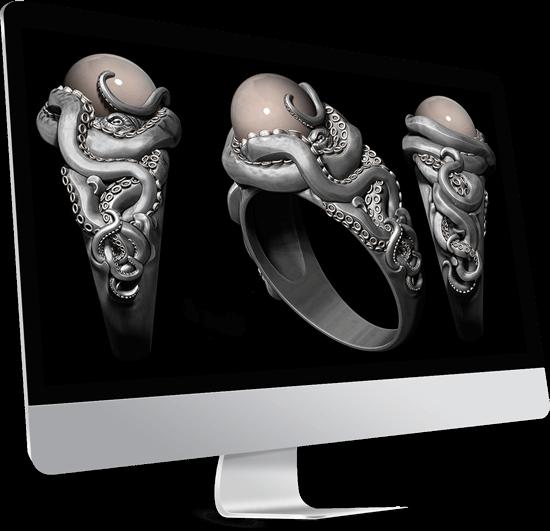 طراحی جواهر با نرم افزار زیبراش