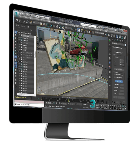 Special effects in 3Ds MaX