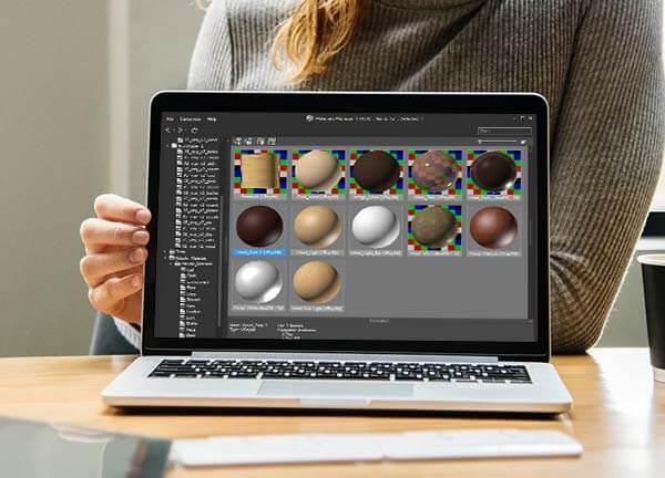 متریال دهی با نرم افزار تری دی مکس با نور و رنگ