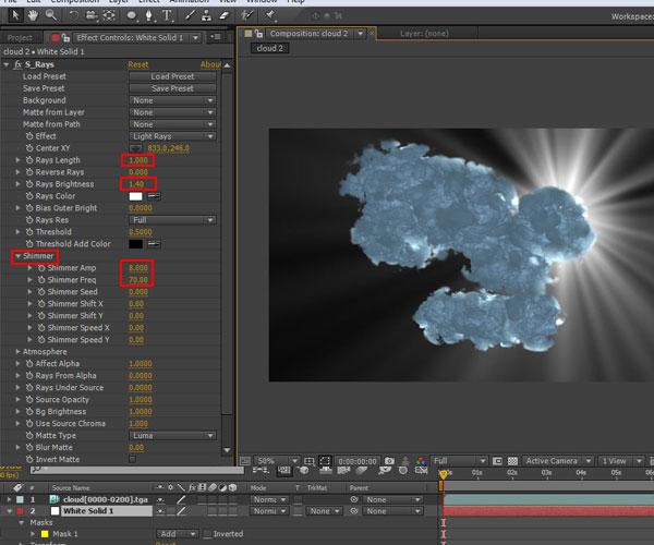 3dmax sakhtan abr40 - ایجاد ابرهای واقعی در تری دی مکس با استفاده از Particle Flow و AfterBurn