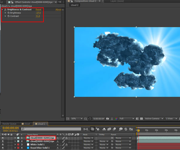 3dmax sakhtan abr42 - ایجاد ابرهای واقعی در تری دی مکس با استفاده از Particle Flow و AfterBurn