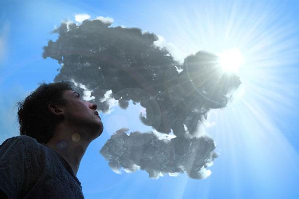 3dmax sakhtan abr45b - ایجاد ابرهای واقعی در تری دی مکس با استفاده از Particle Flow و AfterBurn