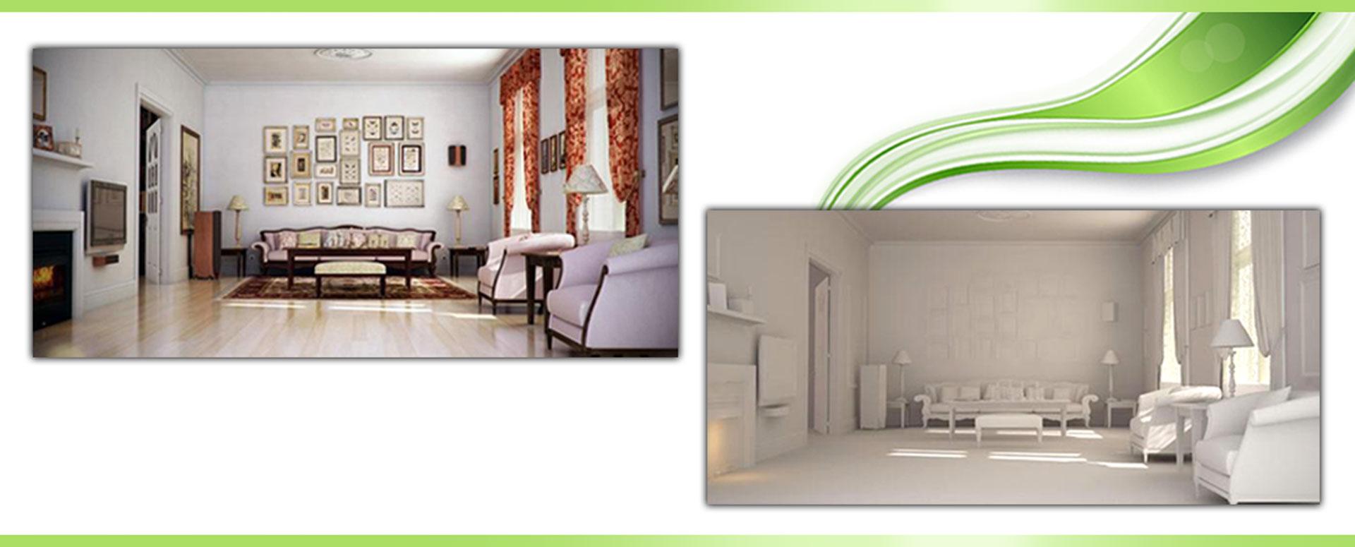 Making Classic Living Room using 3D 2 - مدلسازی اتاق خواب در تری دی مکس