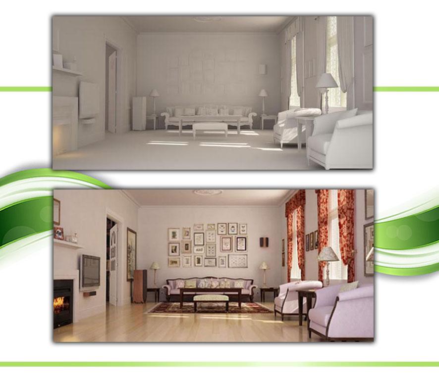 Making Classic Living Room using 3D 20 - مدلسازی اتاق خواب در تری دی مکس