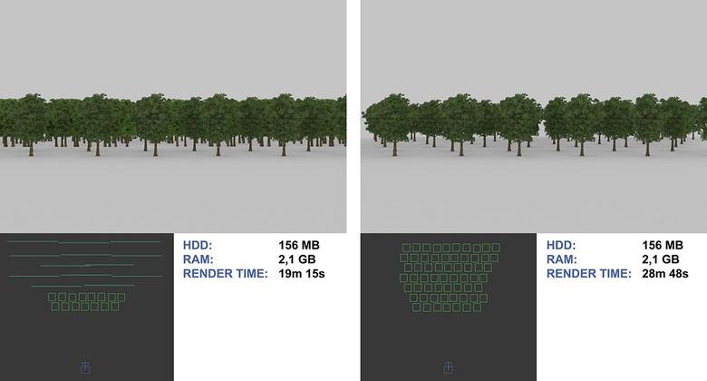 بهینه سازی صحنه در 3dmax