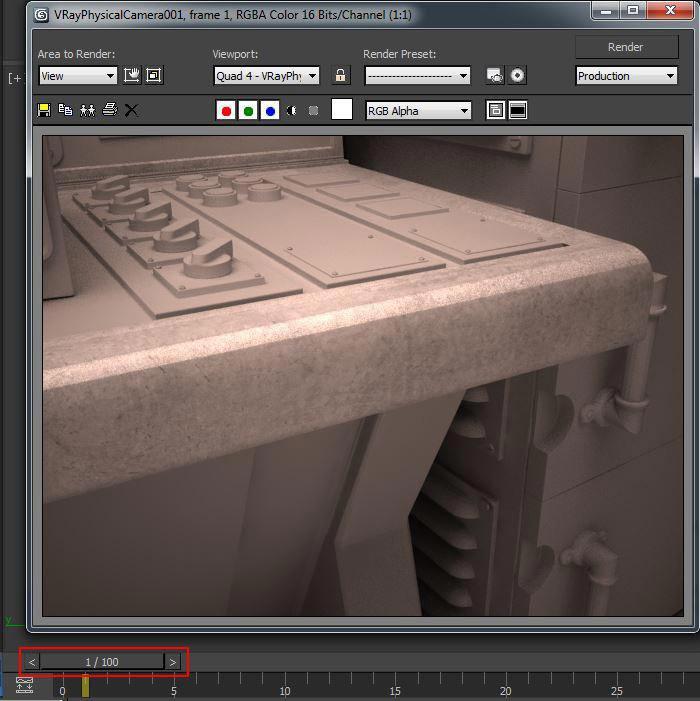create realistic shaders step 10 - نحوه ایجاد شیدر در تری دی مکس