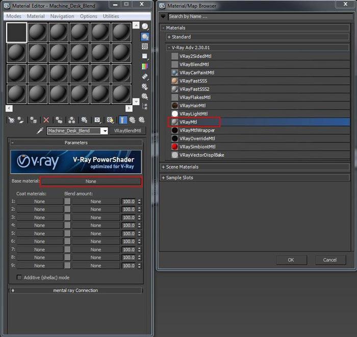 create realistic shaders step 6 - نحوه ایجاد شیدر در تری دی مکس