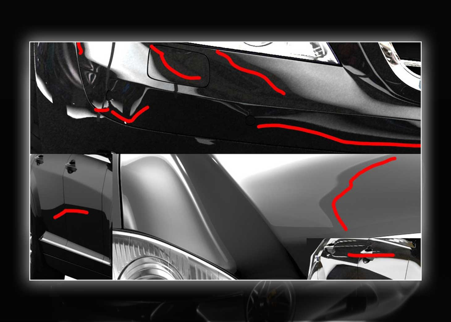 modeling using polygons car 3ds max maya11pg - مدلسازی خودرو در تری دی مکس
