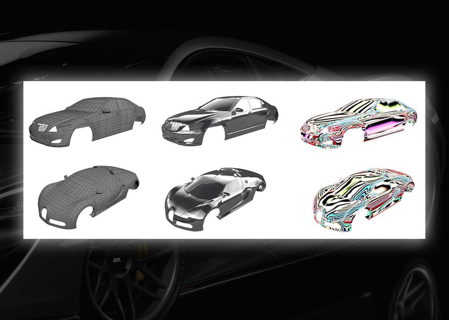 modeling using polygons car 3ds max maya13pg - مدلسازی خودرو در تری دی مکس