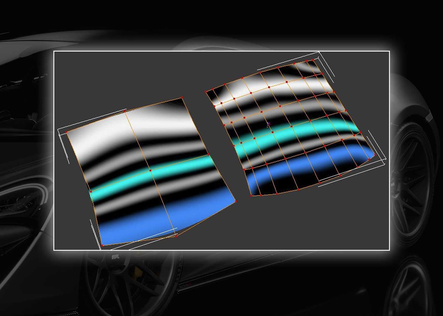 modeling using polygons car 3ds max maya14pg - مدلسازی خودرو در تری دی مکس
