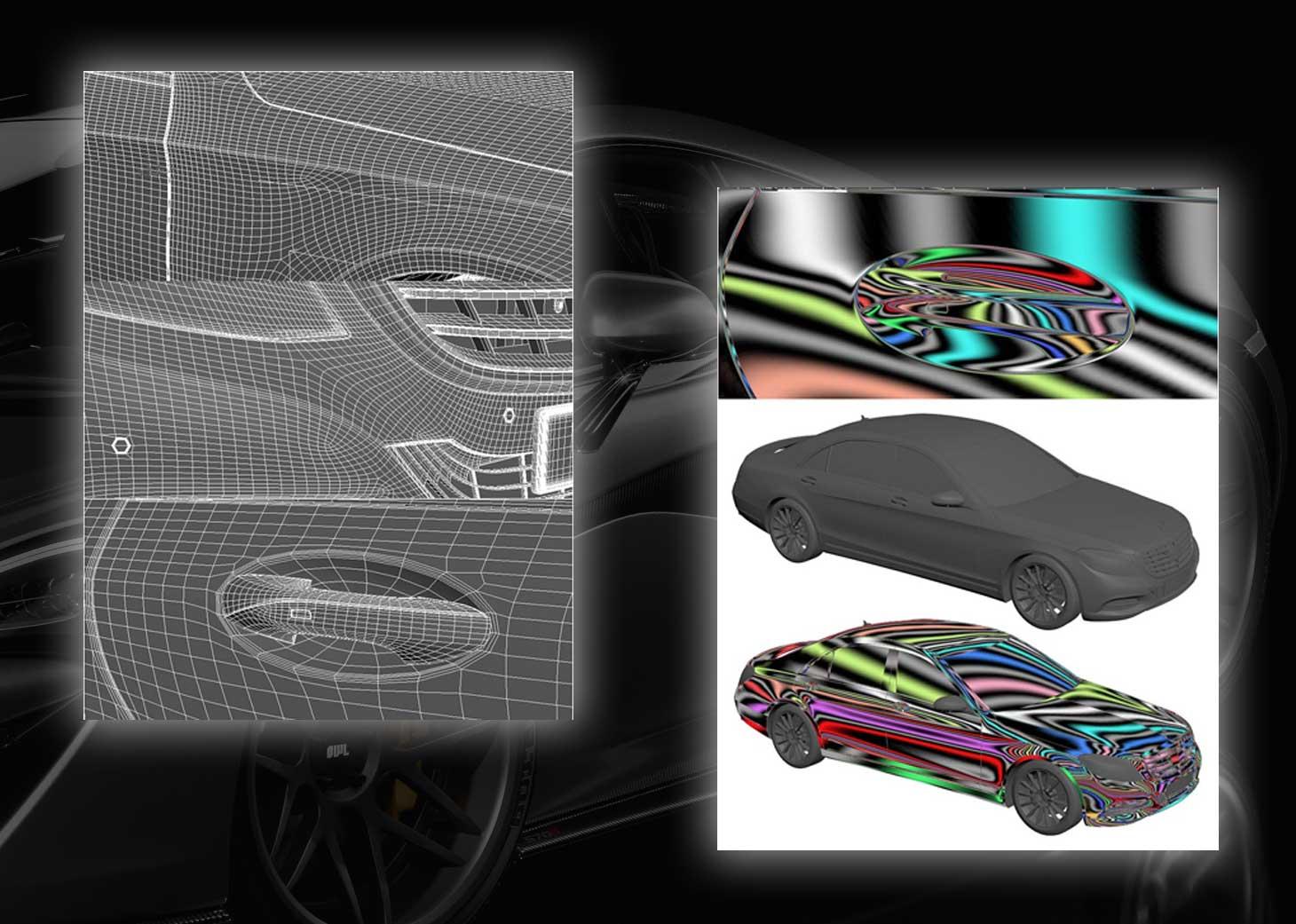 modeling using polygons car 3ds max maya21 - مدلسازی خودرو در تری دی مکس