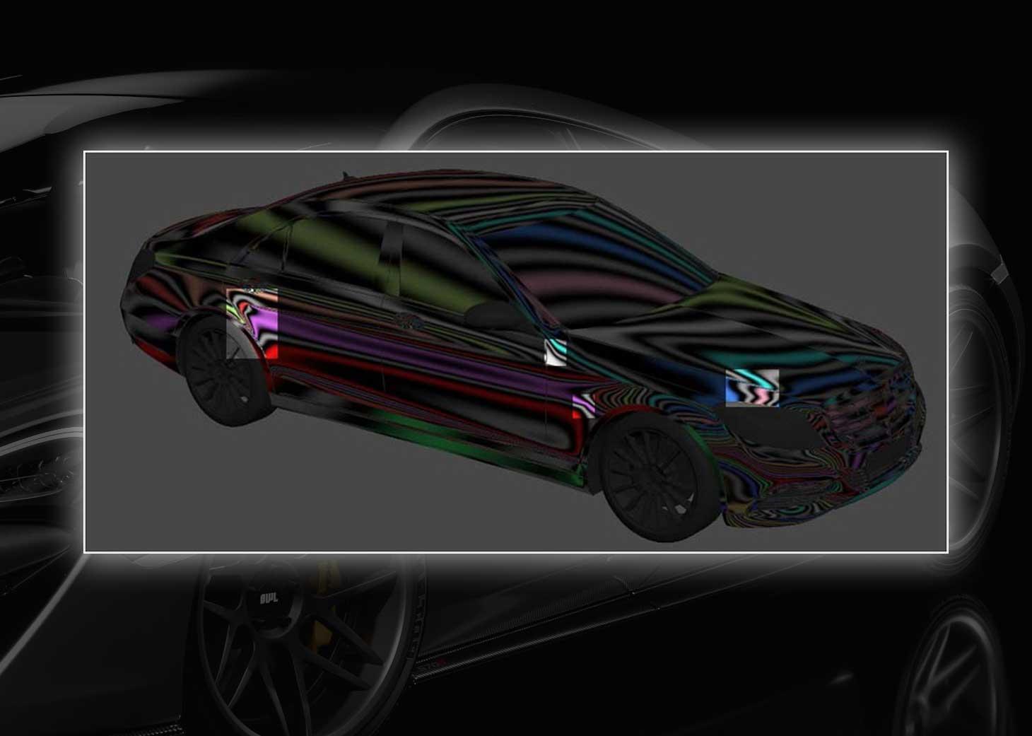modeling using polygons car 3ds max maya24 - مدلسازی خودرو در تری دی مکس