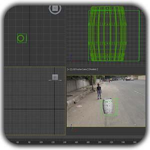 3dmax tracking shakhes - طراحی داخلی