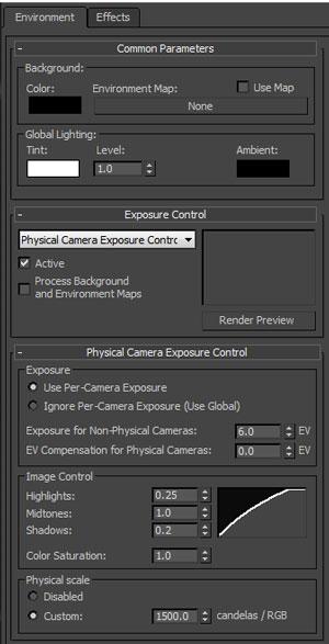Capture - تنظیم دوربین فیزیکال کمرا در تری دی مکس