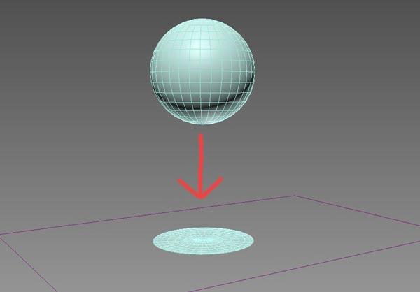Splatting  ball against wall - مدیفایر flex در تری دی مکس