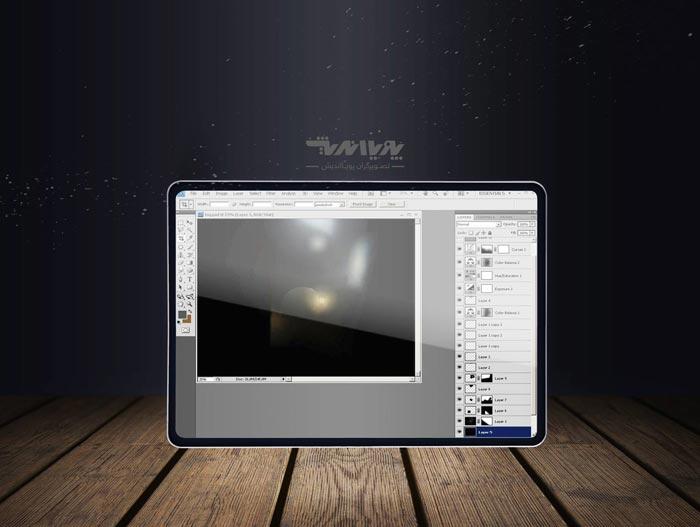 final 3dmax project m - ایجاد مه و غبار در شب با تری دی مکس