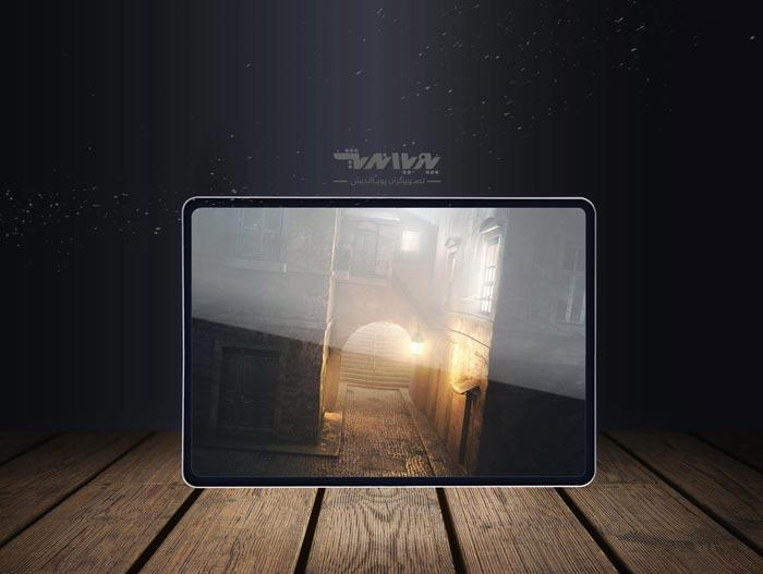 light in 3d software 2m - ایجاد مه و غبار در شب با تری دی مکس
